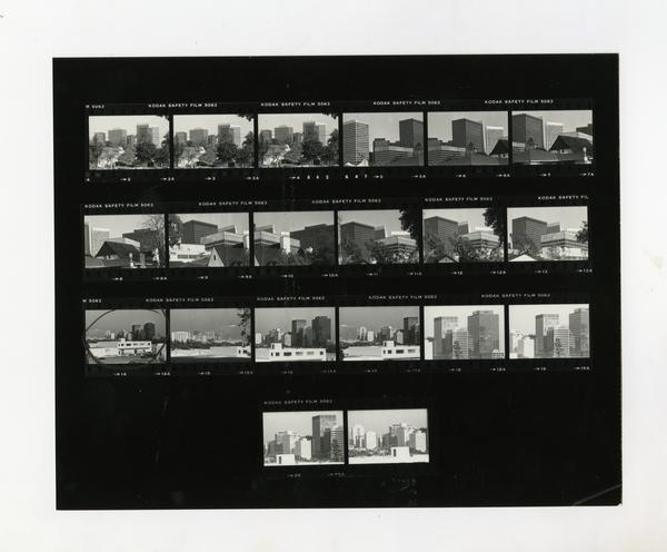 Buildings / Skyline of West L.A. (3/5/1983)