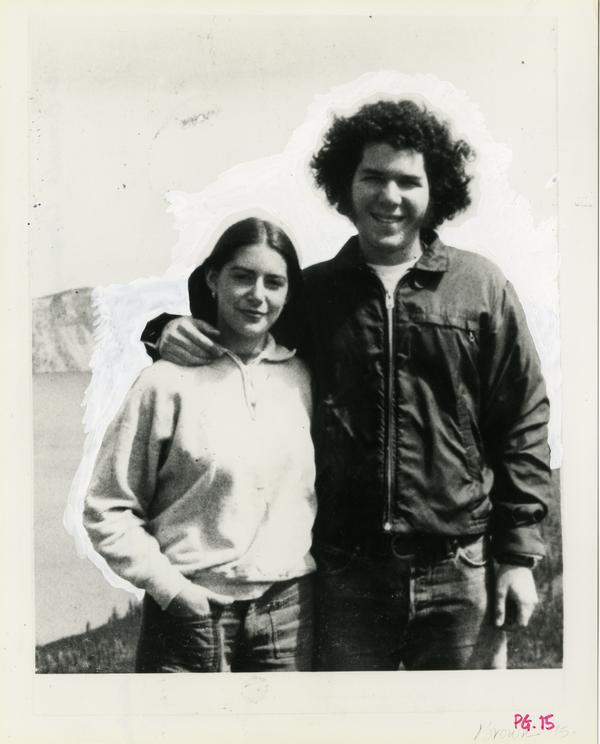Jonathan Brown and family member during a camping trip in the 1970s