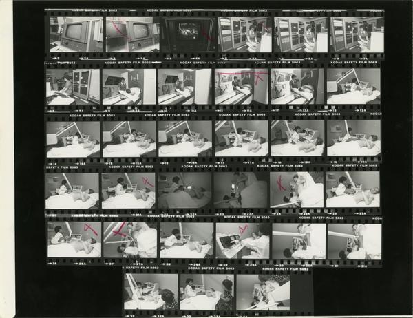 Contact sheet of Computerized Tomography Simulator (CT) - Radiological Science / Pat Wall and Delma Westbrook