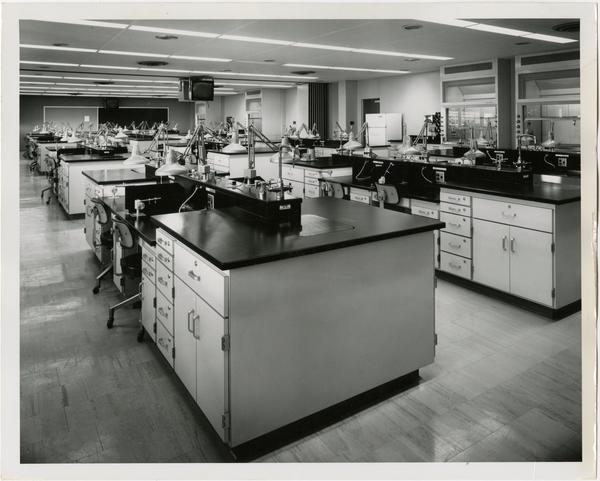 View of Dentistry laboratory classroom