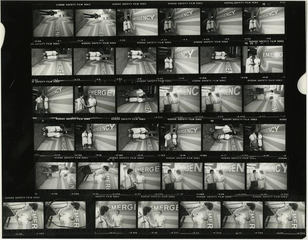 Contact sheet of Emergency RNs, 1984