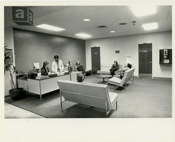 View of Family Dental Practice Lobby, 1982