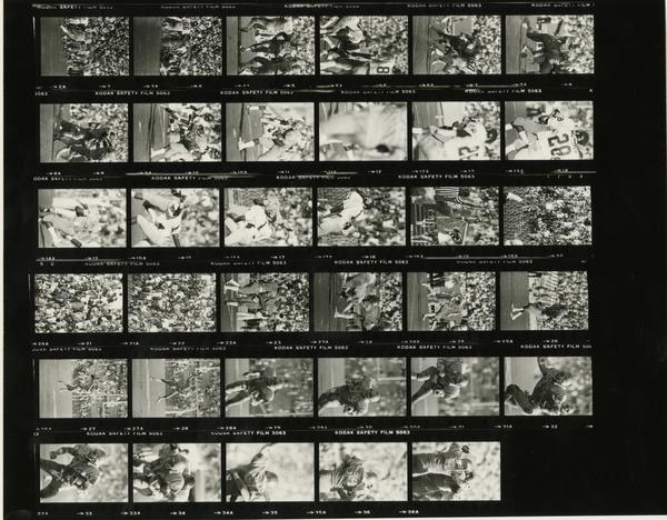 Contact sheet of UCLA Football, 1983