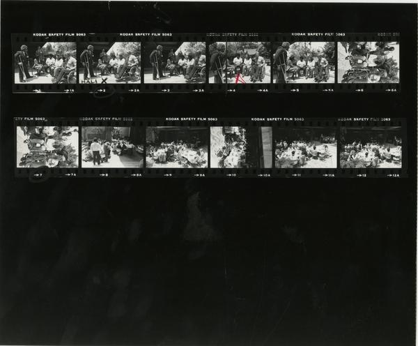 Contact sheet of UCLA Medical Center Fulfillment Fund Career Day, 1982