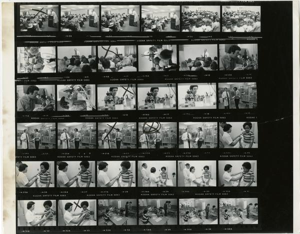 Harbor Hospital contact sheet, 1978