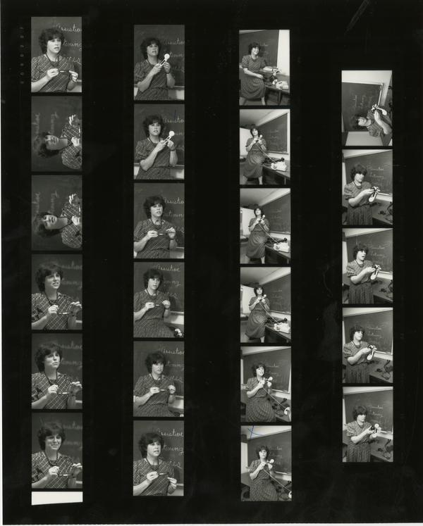 Hope for Hearing contact sheet, 1987