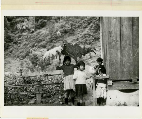 old photo of children