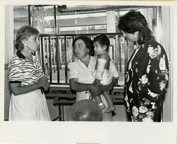 Interpreter Services working with parent of patient