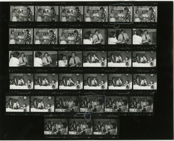 Interpreter Service contact sheet, 1987