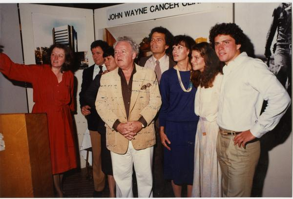 John Wayne Center Clinic Dedication