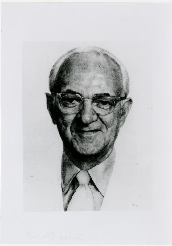 Portrait of Jules Stein