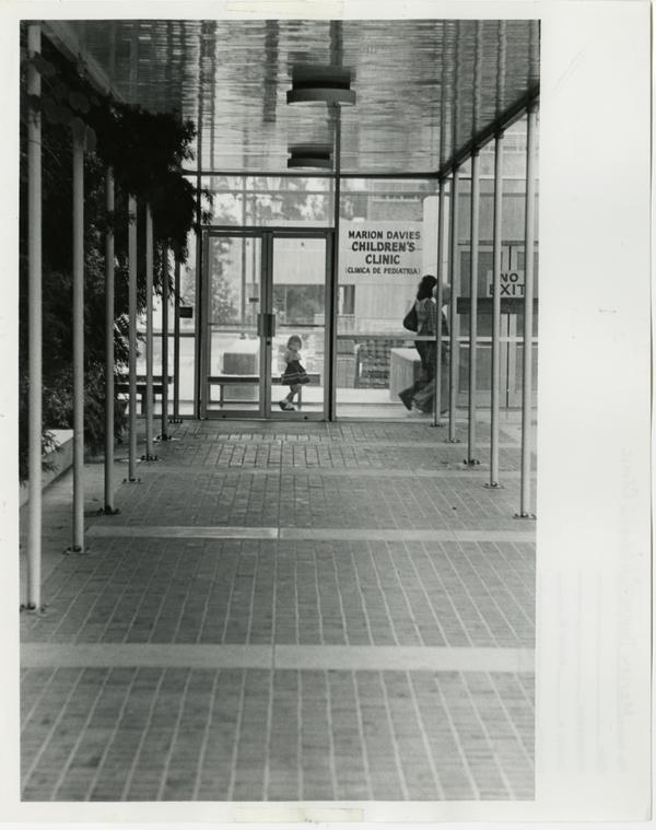hallway/door
