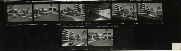 Contact sheet of Martin Luther King, Jr. Hospital (July 1980)