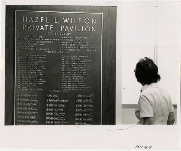 Hazel E. Wilson Private Pavilion