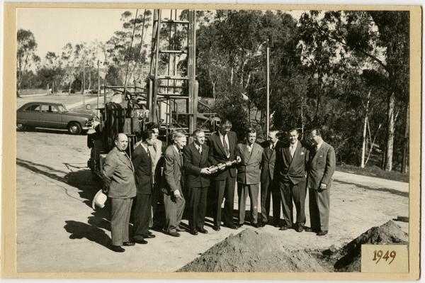 Groundbreaking of Med Center, 1939