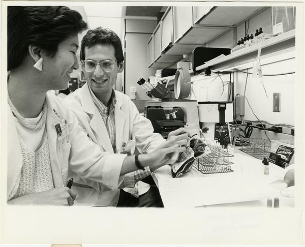 Medical Center clinical labs Evan Susser (5/9/1986)