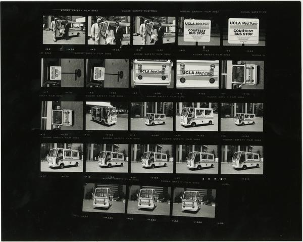 Contact sheet of MedTram