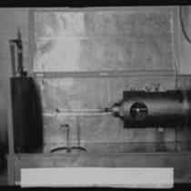 Oscillograph for photographing electrons, California Institute of Technology, Pasadena, 1928