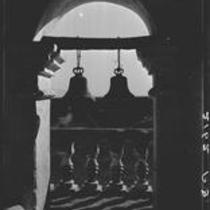 Bell tower, Mission San Xavier del Bac, near Tucson, Arizona, 1926