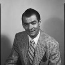 Man in houndstooth jacket, 1954